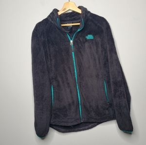 North Face Osito Fleece Size XL Black Jacket Women